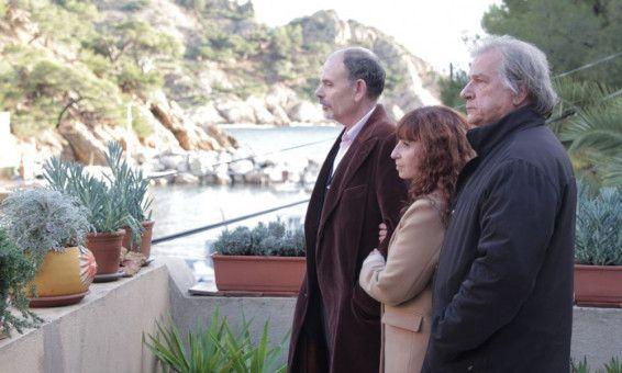 Die Geschwister Joseph (Jean-Pierre Darroussin), Angèle (Ariane Ascaride) und Armand (Gérard Meylan, von links) hadern mit ihren Schicksalen.