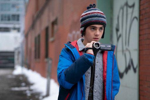 Freddy (Jack Dylan Grazer) dokumentiert die Heldentaten seines Freundes Billy mit der Kamera.