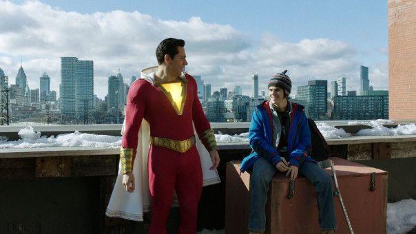 Ziemlich beste Freunde: Freddy (Jack Dylan Grazer, rechts) und Shazam (Zachary Levi).