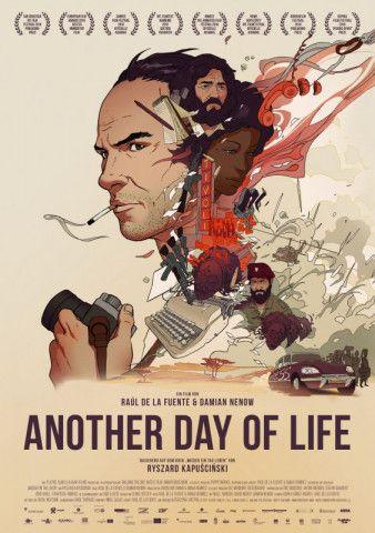 """Aus Ryszard Kapuscinskis Buch """"Another Day of Life"""" über Angola in den 70er-Jahren wurde ein Animationsfilm, der neue Wege geht."""
