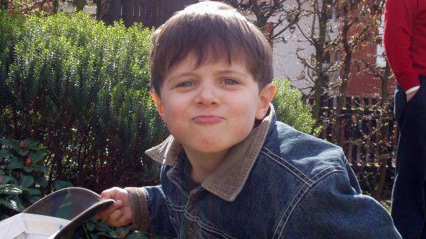 Die Kindheit von Lukas Rieger (19) ist ja noch nicht allzu lange her. Dementsprechend gut ist er noch zu erkennen.