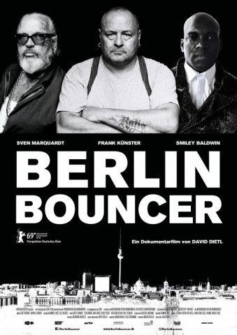 """David Dietl proträtiert in seinem Film """"Berlin Bouncer"""" die drei altgedienten Berliner Türsteher (von links) Sven Marquardt, Frank Küster und Smiley Baldwin."""