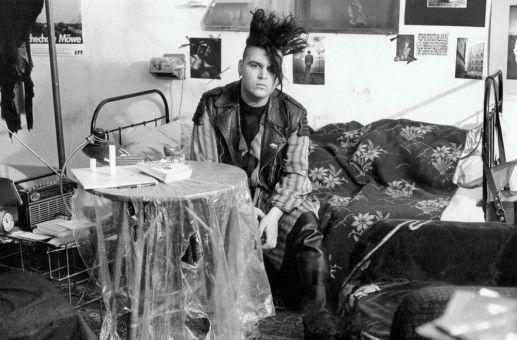 Erinnerungen an wilde Jahre: In der Wendezeit war Sven Marquardt ein waschechter Ost-Punk.