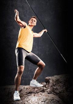 """Als Zehnkämpfer ist man vielseitig und somit prädestiniert für eine Sendung wie """"Ewige Helden"""", in der die früheren Leistungssportler in diversen Wettkämpfen gegeneinander antreten. Folgerichtig war es Frank Busemann, der in Staffel 1 den Sieg errang."""