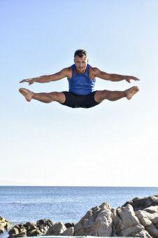 Athletik, Schnellkraft und turnerisches Geschick sind beim Wasserspringen gefragt. Sascha Klein zeigte sich als Gewinner der 3. Staffel, wie vielseitig er ist.