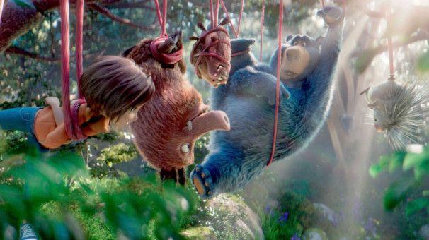 June und ihre tierischen Begleiter im Park stecken in großen Schwierigkeiten.