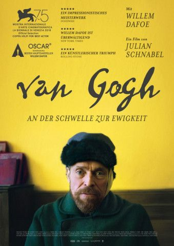 """Regisseur Julian Schnabel betrachtet die Welt in seinem famosen Künstlerfilm """"Van Gogh - An der Schwelle zur Ewigkeit"""" aus den Augen des Malers."""