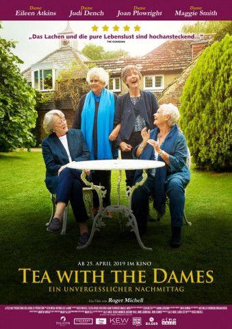 """Eigentlich dreht Roger Michell fürs Kino Spielfilme. Und eigentlich lassen Maggie Smith, Judi Dench, Eileen Atkins und Joan Plowright bei ihren Teekränzchen keine Kameras mitlaufen. Für die Dokumentation """"Tea with the Dames"""" machten alle eine Ausnahme."""