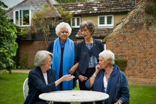 Maggie Smith, Joan Plowright, Eileen Atkins und Judi Dench (von links) teilen viele Erinnerungen.