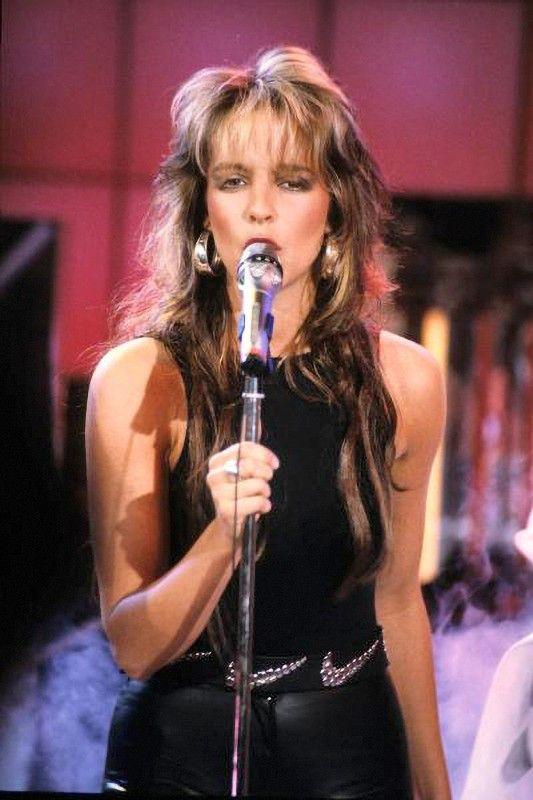 Auch Superstars der Neuen Deutschen Welle wie Nena waren in der Hitparade gern gesehene Gäste.
