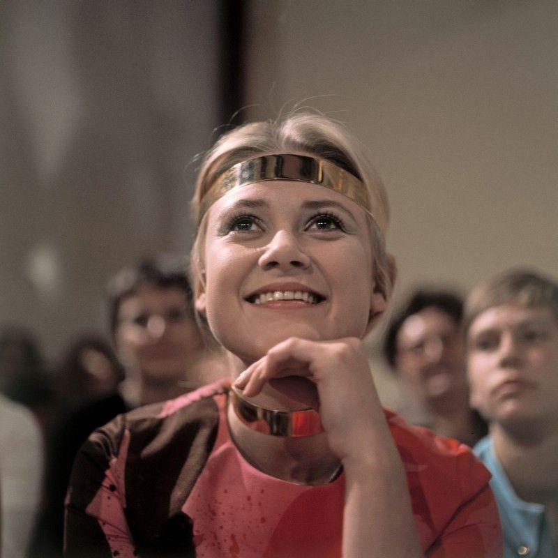 Gitte war einer der großen, weiblichen Stars des Schlagers.