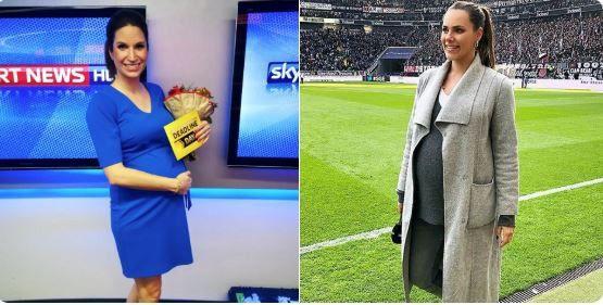 Esther Sedlaczek Sky Moderatorin In Der Babypause Wann Kommt Sie Zuruck