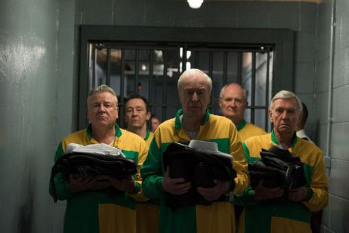 Mission geglückt, Räuber im Knast: Danny (Ray Winstone), Carl (Paul Whitehouse), Brian (Michael Caine), Terry (Jim Broadbent) und John (Tom Courtenay) wurden von der Polizei geschnappt.