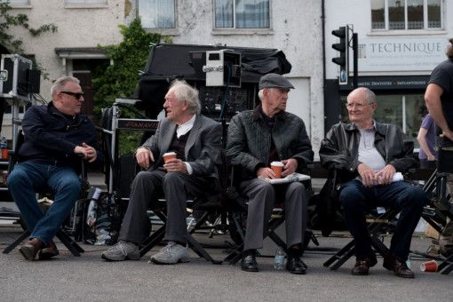 """Für """"Ein letzter Job"""" standen unter anderem Ray Winstone, Michael Gambon, Tom Courtenay und Jim Broadbent vor der Kamera."""