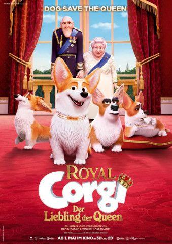 """Ehepaar mit Hunden: """"Royal Corgi - Der Liebling der Queen"""" wirft einen tierisch humorvollen Blick in den Buckingham Palast."""