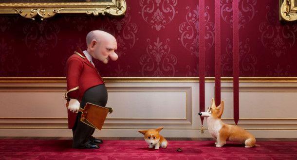Dieser Diener im Buckingham Palast hat vor allem einen Job: Er muss die Hinterlassenschaften von Rex beseitigen.