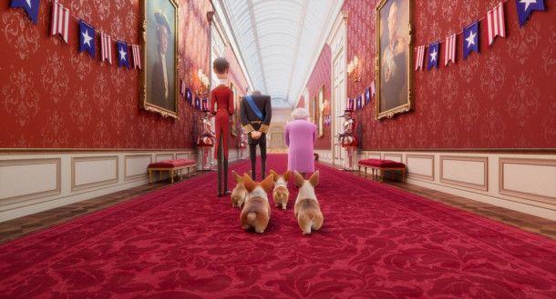 Immer dabei: die Queen und ihre Corgis.