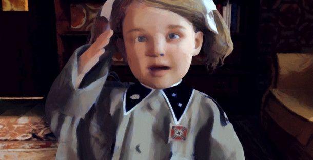 """In animierten Szenen erzählt """"Kleine Germanen"""" von Elsa, die in einer rechtsextremen Familie aufwächst."""