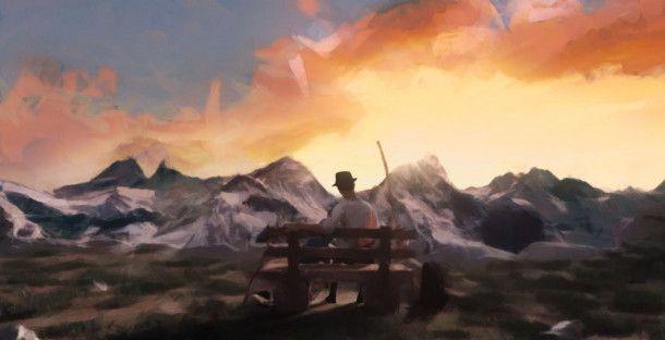 """Im Film """"Kleine Germanen"""" wechseln sich animierte Szenen mit Dokusequenzen ab."""