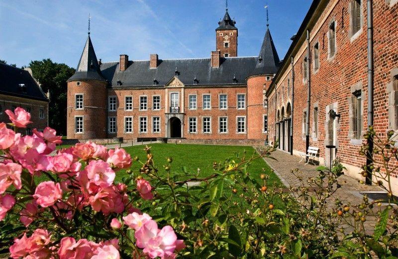 Das Wasserschloss Alden Biesen.