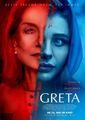 """Trotz Isabelle Huppert und Chloë Grace Moretz in den Hauptrollen ist """"Greta"""" ein reichlich absurder Psychothriller geworden."""