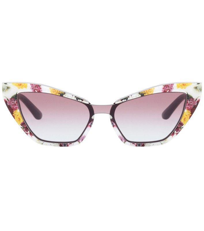 """Sommerhit: """"Katzenaugen""""-Modell, gesehen bei Dolce & Gabbana."""