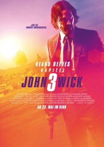 John Wick ist zurück: In Teil drei geht es Keanu Reeves an den Kragen. Doch er weiß sich zu wehren.