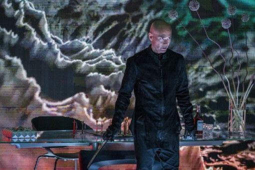 Killer Zero (Mark Dacascos) ist mächtig wütend auf John Wick.
