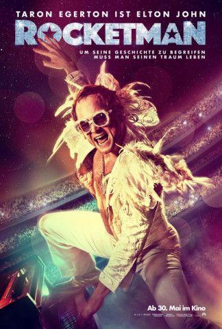 """""""Rocketman"""" erzählt das Leben des Popstars Elton John - als Mischung aus Musical und Drogenbeichte."""