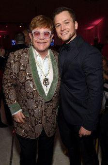 Original und Kopie: Elton John (links) und Taron Egerton.