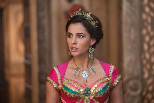 """Naomi Scott gibt in """"Aladdin"""" die mutige Prinzessin Jasmin."""