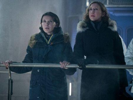 """Millie Bobby Brown (links) und Vera Farmiga spielen die weiblichen Hauptrollen in """"Godzilla II: King of the Monsters""""."""