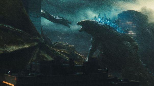 Godzilla (rechts) legt sich mit furchterregenden Gegnern an.