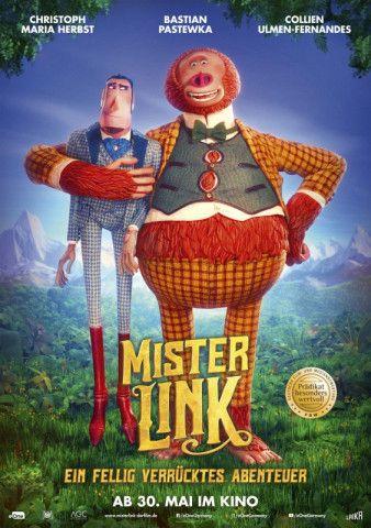 Ein ungleiches Duo: Sir Lionel Frost (gesprochen von Christoph Maria Herbst) und Mister Link (gesprochen von Bastian Pastewka).