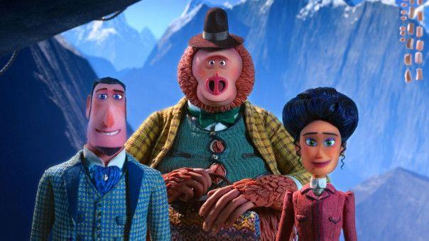 Ein wirklich ungleiches Trio: Sir Lionel, Mister Link und Adelina Fortnight haben eine gemeinsame Mission.