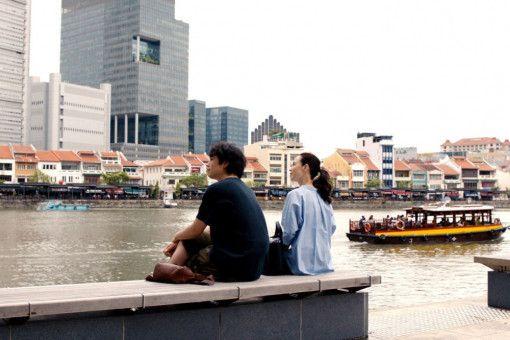 Für die Japaner Masato (Takumi Saitoh) und Miki (Seiko Matsuda) ist Singapur eine zweite Heimat geworden.