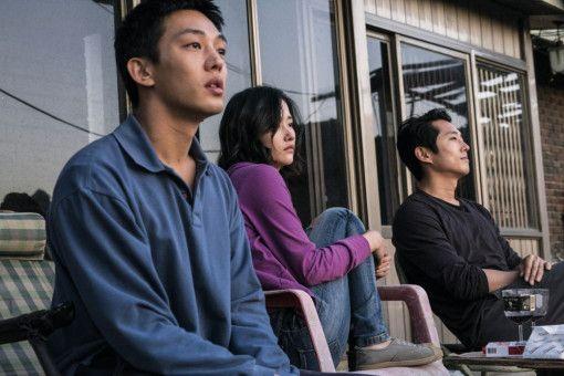 Verhängnisvolle Affäre: Jong-su (Yoo Ah-in), Hae-mi (Jun Jong-seo) und Ben (Steven Yeun).