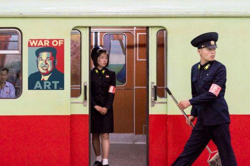 """Der Dokumentarfilm """"War of Art"""" gibt Einblicke in das abgeschottete Nordkorea."""