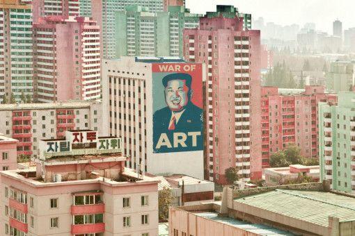 Kim Jong-un als neuer Obama? Die Kunst macht's möglich.