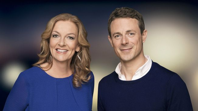 """Bettina Tietjen und Alexander Bommes moderierten seit 2015 gemeinsam die Talkshow """"Tietjen und Bommes""""."""