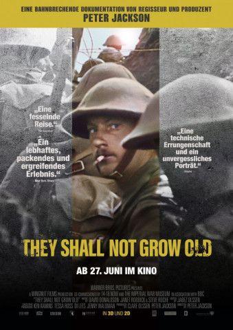 """In seinem spektakulären Dokumentarfilm """"They Shall Not Grow Old"""" zeigt Peter Jackson den Ersten Weltkrieg in Farbe."""