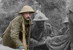 Die originalen Aufnahmen aus dem Ersten Weltkrieg wurden aufwendig restauriert und anschließend eingefärbt.