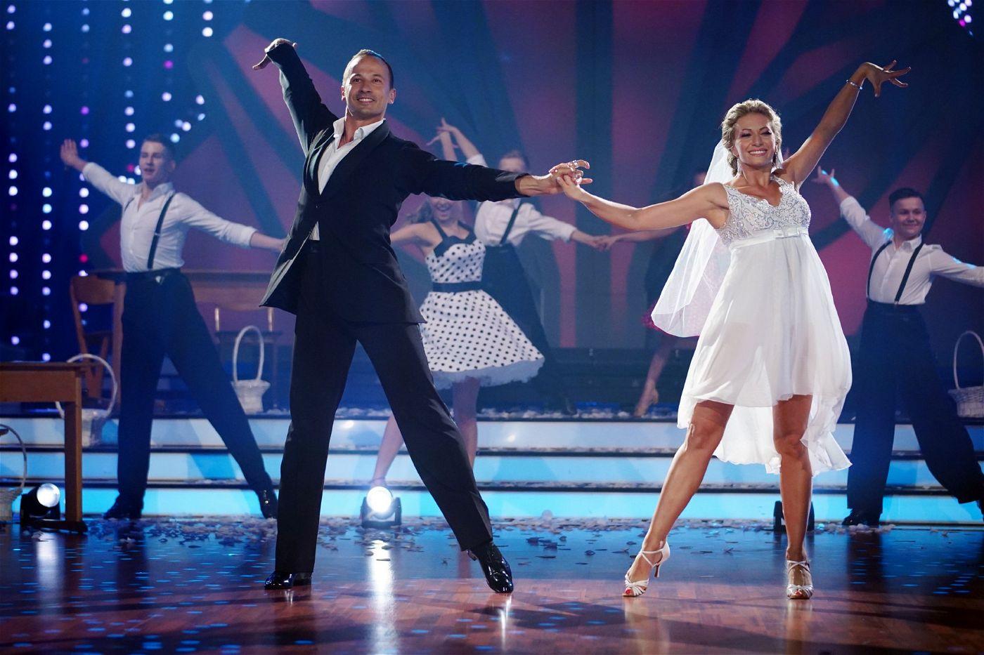 Regina und Sergiu Luca tanzen natürlich zusammen.