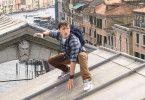 Peter Parker alias Spider-Man (Tom Holland) bekommt es in Venedig mit einem Wassermonster zu tun.