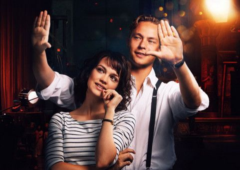 Milou (Emilia Schüle) und Emil (Dennis Mojen) träumen gemeinsam vom Film.