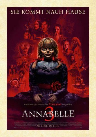 """Mit dem Puppenhorrorfilm """"Annabelle 3"""" kommt der siebte Teil des """"Conjuring""""-Erzähluniversums ins Kino."""