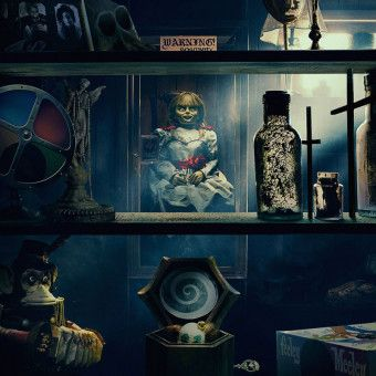 Noch befindet sich die dämonische Puppe Annabelle sicher hinter Glas.