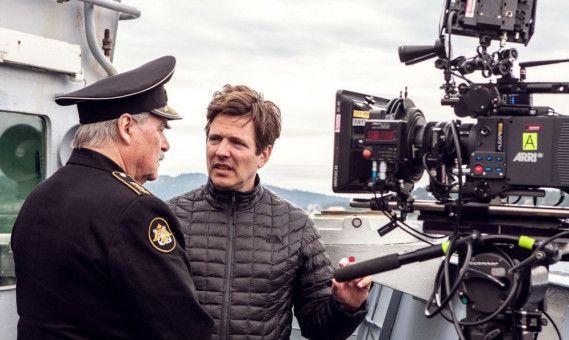 """Regisseur Thomas Vinterberg (rechts) verfilmte das Unglück der """"Kursk""""."""