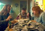 Den drei Freundinnen Sandra (Cécile de France), Marilyn (Audrey Lamy) und Nadine (Yolande Moreau, von links) ist noch nicht klar, dass bald die belgische Drogenmafia Interesse an dem Geld anmelden wird, das ihnen in die Hände gefallen ist.