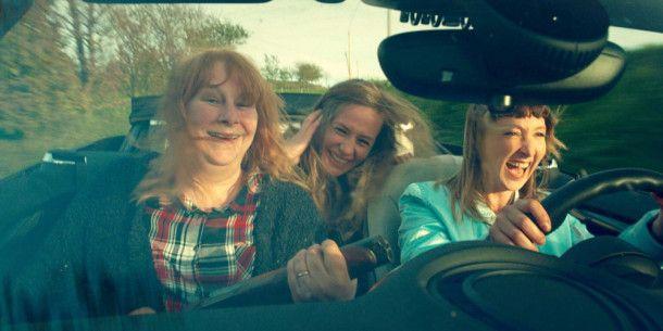Nadine (Yolande Moreau), Sandra (Cécile de France) und Marilyn (Audrey Lamy, von links) sind auf der Flucht vor belgischen Gangstern.